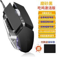 S29 有线鼠标 (商务办公台式笔记本电脑 磨砂有声静音usb鼠标 通用光电)