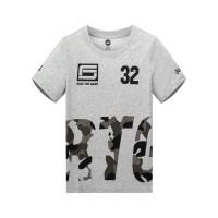 【折后�B券�A估�r:24.3】361�和�中大童短袖��衫男童�A�I字母T恤夏�\��T恤套�^�W院�LK51921204