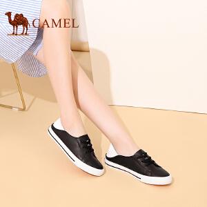 骆驼牌 女鞋 2017春季新款时尚休闲板鞋韩版小白鞋女低帮鞋潮