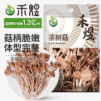 禾煜茶树菇200g 古田干货 菌菇 菌菇特产菌类
