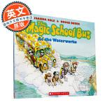 神奇校车 英文原版童书 The Magic School Bus At The Waterworks 海底探险 学乐