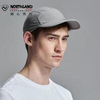 诺诗兰20新款春夏男士户外运动帽防晒透气遮阳帽A090009