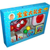 宝宝大礼盒:小小孩(洗澡水温感应器1件 奶瓶测温圈2条)