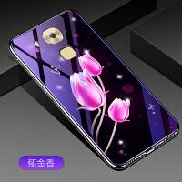 5.5寸华为麦芒5手机壳MLA-AL10紫色玻璃G9plus潮女Huawei麦茫5个性mla-all