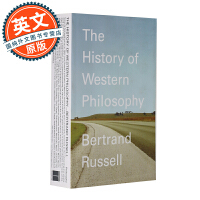 西方哲学史 英文原版 The History of Western Philosophy 进口图书 Bertrand