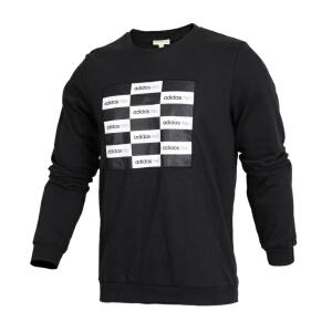 Adidas阿迪达斯男装 NEO运动休闲圆领透气卫衣套头衫 CD2339