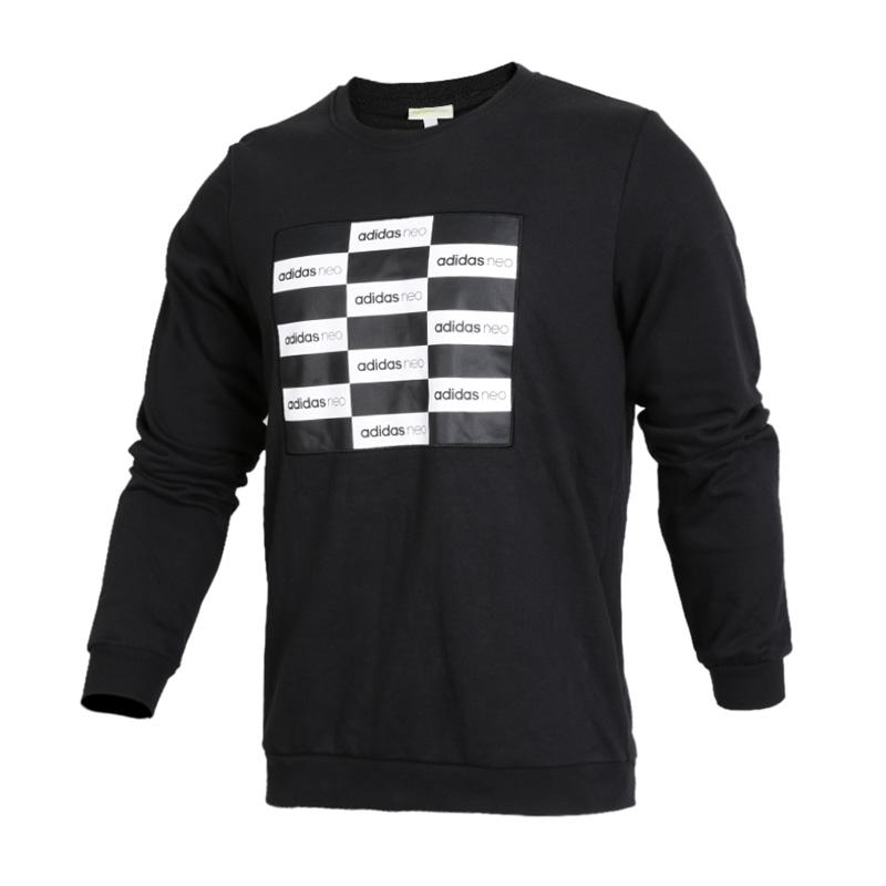 Adidas阿迪达斯男装 NEO运动休闲圆领透气卫衣套头衫 CD2339NEO运动休闲圆领透气卫衣套头衫