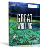 正版现货 Great Writing 1 Text with Online Access Code美国本土中学教程 英