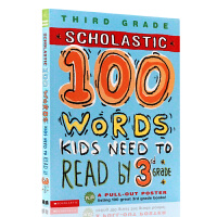 中图:100VocabularyWordsKidsNeedtoReadby3rdGrade