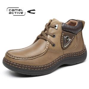 Camel Active/骆驼动感 皮鞋秋冬马丁靴男靴皮靴短靴男士休闲鞋