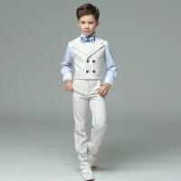男童礼服英伦男童演出服钢琴主持人走秀套装花童礼服男儿童礼服男