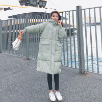 学生面包羽绒女中长款2018新款韩版加厚棉衣服棉袄外套冬季潮