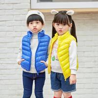 儿童外穿棉服马甲小中大童宝宝婴儿保暖装备秋冬韩版立领外套棉衣