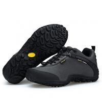 户外登山鞋户外徒步鞋男徒步鞋透气防滑防水防滑布面登山鞋女徒步鞋