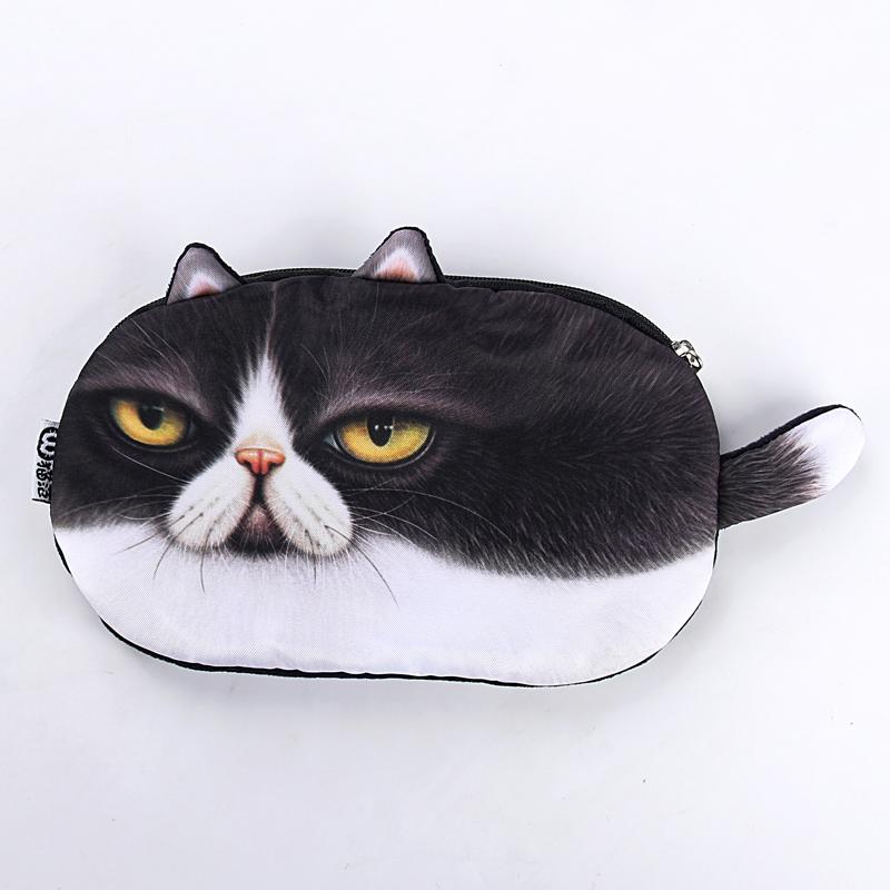 umi韩国创意零钱包可爱卡通猫咪小零钱包袋 女硬币包手拿包小包