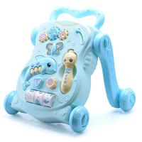 宝宝学步车手推车婴儿童音乐玩具6-18个月可调