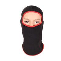 户外运动秋冬季抓绒头套自行车骑行防风尘保暖面罩护脸帽滑雪围脖