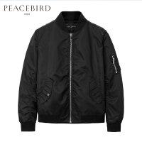 太平鸟男装夹克 新款夹克春季薄外套韩版修身男装飞行夹克青年潮