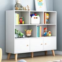 【一件3折】书架落地简约现代置物架书柜落地书架简易小书柜架子