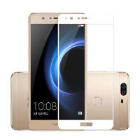 华为荣耀V8钢化膜knt-al20手机膜al10玻璃高清贴膜tl10保护膜ul10