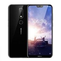 支持礼品卡 Nokia/诺基亚 X6全网通4G全面屏双摄 智能手机