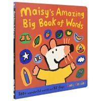【首页抢券300-100】Maisy's Amazing Big Book Of Words maisy 小鼠波波主题