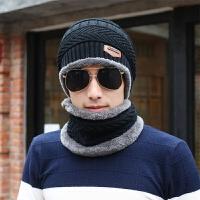 韩版冬季男士针织帽潮帽子毛线帽青年秋冬男帽加厚天套头帽包头帽
