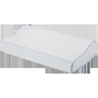 记忆棉枕头慢回弹三曲线高低透气枕护颈椎睡眠枕芯一对装H1 一对装【50*30*7/10cm】波浪形