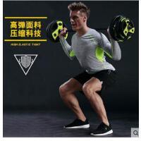 新款男羽毛球服吸汗透气上衣队服 长袖圆领速干运动服