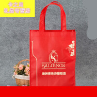 无纺布袋定做 无纺布袋定做印logo定制购物环保手提袋广告订制加急印刷 红色 其他