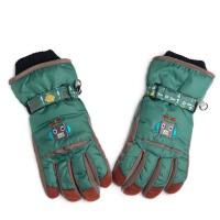 儿童滑雪手套冬季防风可爱五指保暖手套防水户外玩雪男孩