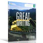 正版现货 Great Writing 3 Text with Online Access Code美国本土中学教程 英