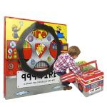 Convertible Fire Engine 变形大冒险车书 消防车 可组装立体变形折叠玩具书 大开本地板书 儿童英