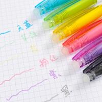 晨光单头热可擦水彩笔6/12色套装幼儿园无毒画笔儿童涂鸦笔彩色笔