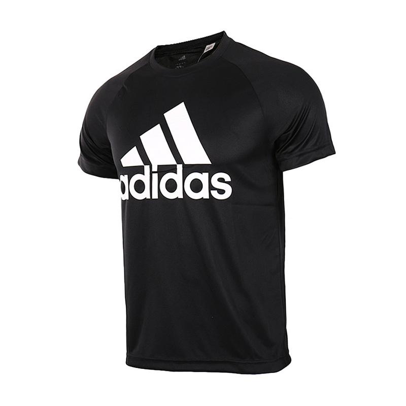 Adidas阿迪达斯  男子运动训练休闲健身短袖T恤  BK0937/S98730  现男子运动训练休闲健身短袖T恤