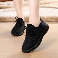 秋冬季新款老北京布鞋女鞋运动鞋棉鞋加绒加厚保暖软底防滑妈妈鞋