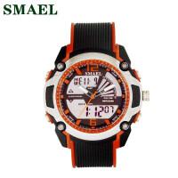 斯麦尔(SMAEL) 手表 电子表 1343双显儿童电子手表户外运动休闲LED手表闹钟手表