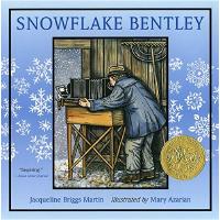 现货 雪花人 英文原版 Snowflake Bentley 平装 凯迪克金奖 儿童绘本 Jacqueline Brig