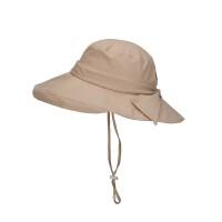 诺诗兰大檐帽子女士2020夏季新款户外遮阳防晒透气渔夫帽A092015