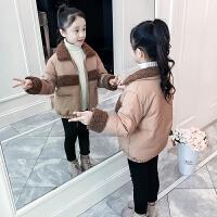 女童棉衣儿童冬装女孩短款童装冬季