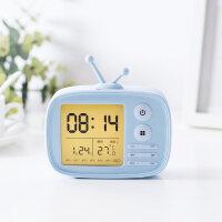 电子表桌面充电电子小闹钟学生创意床头卧室女智能表数字充电款儿童桌面简约时钟