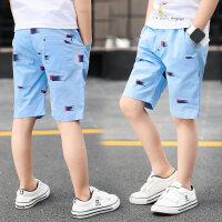 男童短裤夏季2018新款韩版儿童纯棉薄款五分裤中大童休闲裤子外穿