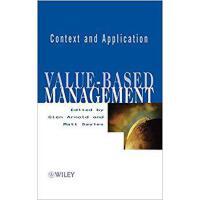 【预订】Value-Based Management - Context & Application 97804718
