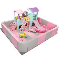 儿童室内家用软体小型滑梯淘气堡大型家庭游乐场男玩具