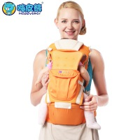 四合一多功能透气婴儿背带腰凳宝宝儿童抱婴腰凳背带 8026透气款