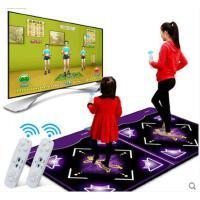 持久耐磨耐用加厚健身操瑜珈跳舞机3D体感跳舞毯 双人电视电脑两用