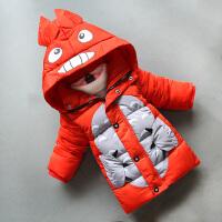 童装男童外套儿童冬装新款4-6宝宝中长款7-9岁
