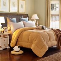 羊羔绒冬被被芯棉被双人被冬天单人加厚冬被学生宿舍保暖冬季冬被子