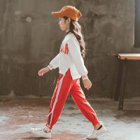 女童秋装运动套装小学生女孩儿童衣服