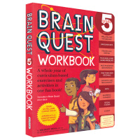 Brain Quest Workbook Grade 5 大脑任务 五年级问答教辅 bq练习册 儿童英文原版进口图书